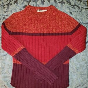 NEW!! Vintage Energie Tri Colored Sweater